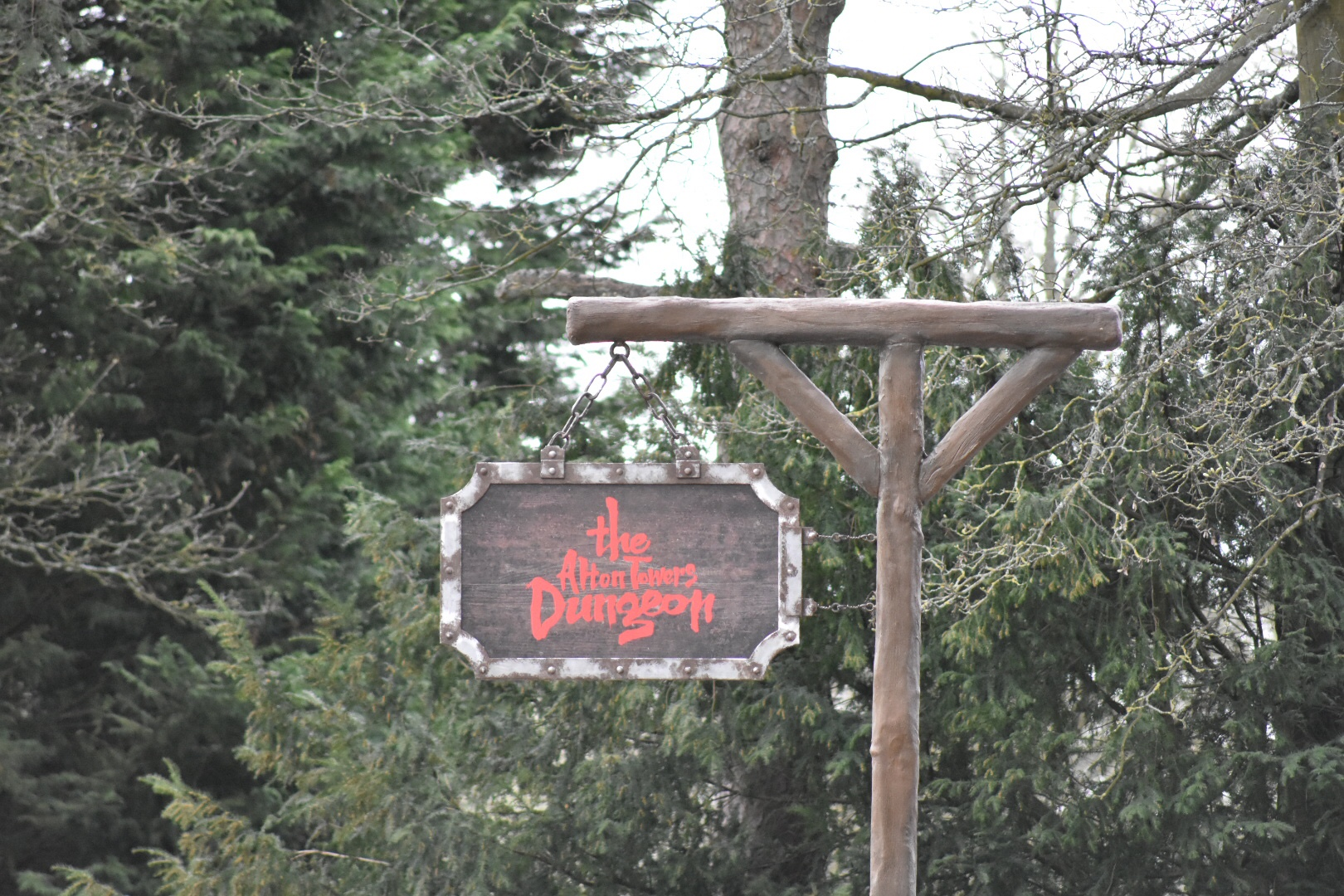 How Long Will The Alton Towers Dungeons Last?