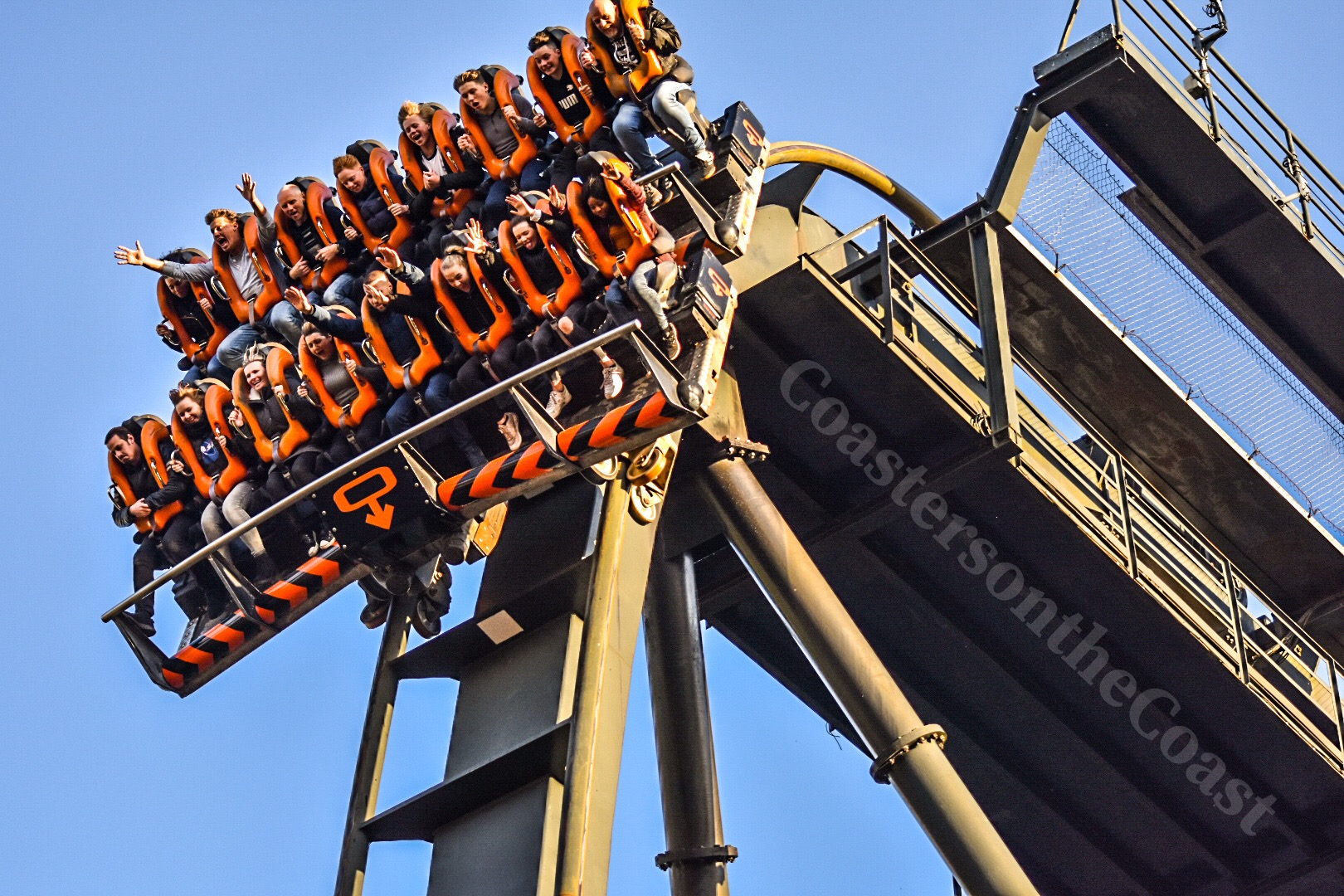 Day VS Night Rides- UK Rollercoasters.